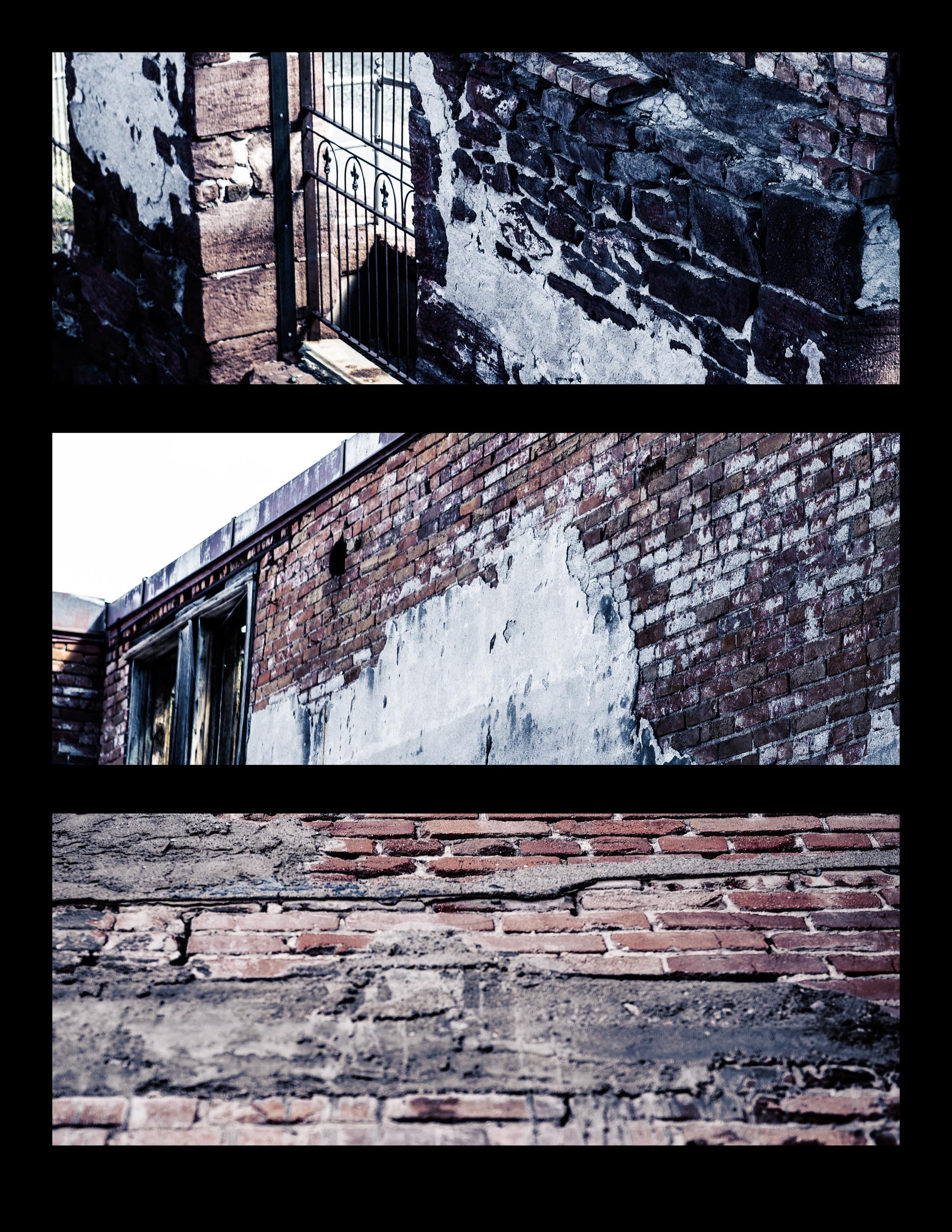 Brick Triptych